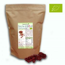 BACCHE DI GOJI TIBETANE BIOLOGICHE - SENZA SOLFITI - 1 KG