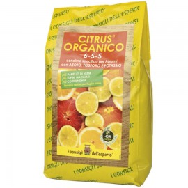 CITRUS® ORGANICO 6-5-5 concime per agrumi - 1.5 KG