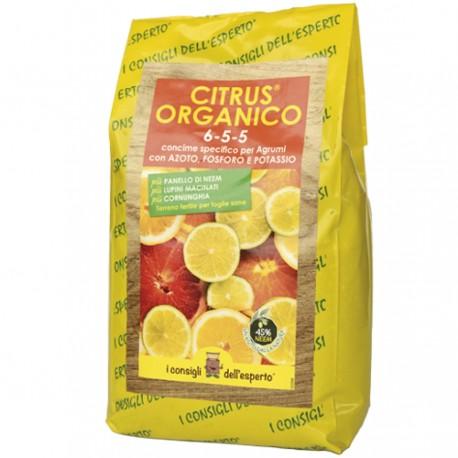CITRUS ORGANICO 6-5-5 concime per agrumi - 1.5 KG