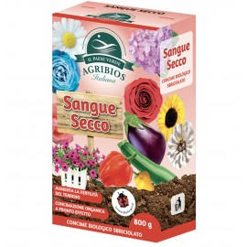 Agribios SANGUE SECCO azoto 12% - 800 gr
