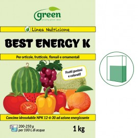 Green BEST ENERGY K concime idrosolubile 12-6-30 - 1 kg
